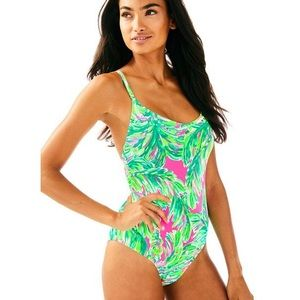 ✨RARE✨ Lilly Pulitzer Azalea One Piece Swimsuit